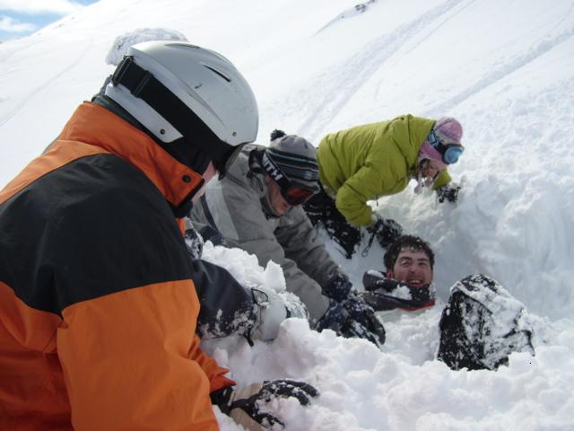 avalanche victim